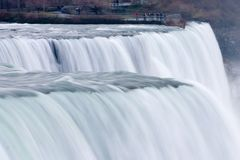 Niagara Falls. US side; shot with motion blur for magical mystical look Royalty Free Stock Photography