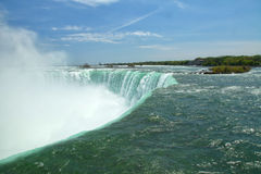 Niagara Falls. The view of the Horseshoe Falls. Niagara Falls, Ontario, Canada Stock Images