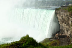 Niagara Falls. The view of the Horse Shoe Falls. Naiagara Falls, Ontario, Canada Royalty Free Stock Image