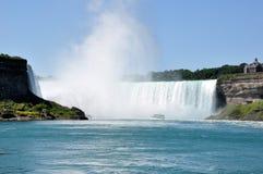 Niagara Falls. View from the base of Niagara Falls Royalty Free Stock Images