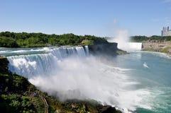 Niagara Falls. View of Niagara Falls from Niagara Falls Observation Tower in USA Royalty Free Stock Photography