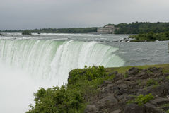 Niagara Falls. Edge of Niagara Falls, Canadian side Stock Image