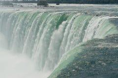 Niagara Falls. Canadian Falls in Niagara viewed at the fall point Royalty Free Stock Image