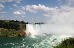 Niagara Falls. From the Canadian Side Stock Photo