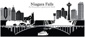 Niagara Falls illustration stock