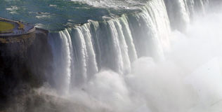 Niagara Falls Aerial View Royalty Free Stock Images