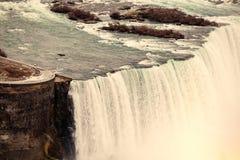 Niagara Falls. Aerial view Stock Photography