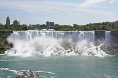 Niagara Falls. The American Falls in Niagara Falls Royalty Free Stock Photos
