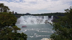 Niagara Falls. The American Niagara Falls Royalty Free Stock Images