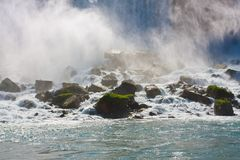 Niagara falls, American fall Stock Photos