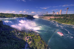 Niagara Falls And American Falls, New York, USA Stock Photo