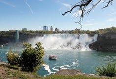 Niagara falls, American falls. Royalty Free Stock Images