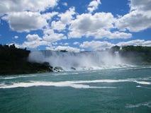 Niagara Falls amerikan Arkivbilder