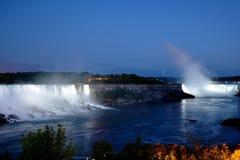 Free Niagara Falls At Night Stock Image - 32489091