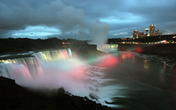 Free Niagara Falls At Night Stock Photography - 6720422