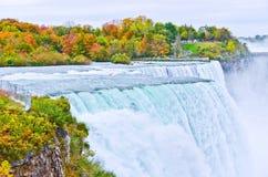 Niagara Falls in autumn Royalty Free Stock Photos
