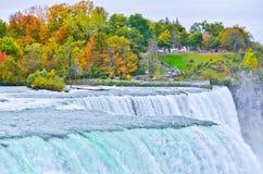 Niagara Falls in autumn Stock Photo