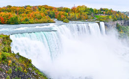 Niagara Falls in autumn Stock Photography