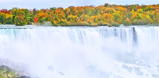 Niagara Falls in autumn Stock Photos