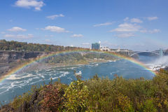 Niagara Falls in autumn, USA Stock Photo