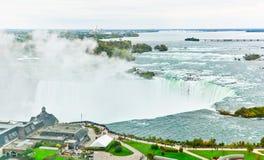 Niagara Falls in autumn Stock Image