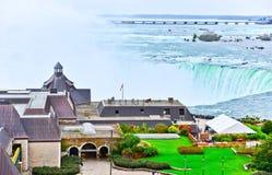 Niagara Falls in autumn Stock Images