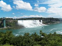 Niagara Falls. Beautiful Niagara Falls in Canada Royalty Free Stock Photos
