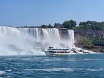 Niagara Falls from below Royalty Free Stock Photo