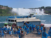 Niagara Falls from below Royalty Free Stock Images