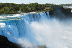 Niagara Falls bij dag stock fotografie