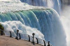 Niagara falls binoculars Stock Image