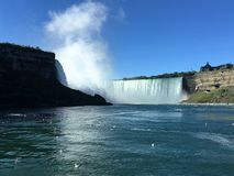 Niagara Falls. Breathtaking view on Niagara Fall Stock Images