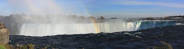 Niagara Falls breites Extrapanarama Lizenzfreies Stockfoto