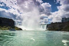 Niagara Falls Canadá los E.E.U.U. Fotografía de archivo