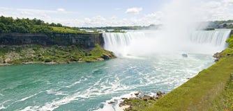 Niagara Falls Canada. A panoramic view of Niagara Falls Canada Royalty Free Stock Photography