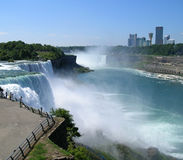 Niagara Falls with Canada in background Stock Image