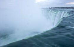 Niagara Falls,Canada. Close up on water Royalty Free Stock Photos