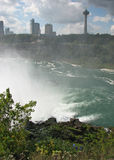 Niagara Falls, Canada, through the mist Stock Images