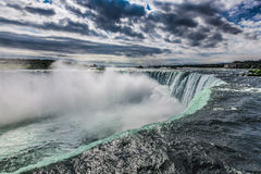 Niagara falls from the canadian side Stock Images