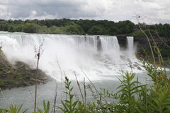 Niagara Falls from the Canadian Side Stock Photo