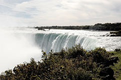 Niagara falls, Canadian site. Royalty Free Stock Photo