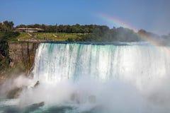 Niagara falls in the candian side stock photo