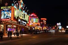Niagara Falls Centre Street Stock Images