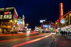 Niagara Falls Centre Street Royalty Free Stock Photo