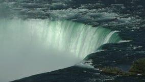 Niagara Falls closeup in 4K stock video footage