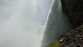 Niagara Falls closeup stock video footage