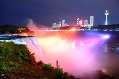 Niagara Falls in colors Stock Image