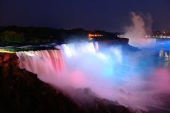 Niagara Falls in colors Royalty Free Stock Image