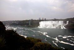 Niagara Falls dag Royaltyfri Fotografi