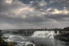 Niagara Falls dag Arkivfoto
